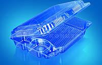 Пластиковая упаковка под суши и роллы ИП-30, 235x172x60 мм.