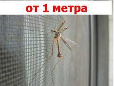 Противомоскитная сетка, защита от комаров, мух и пуха, ширина  1,6 м