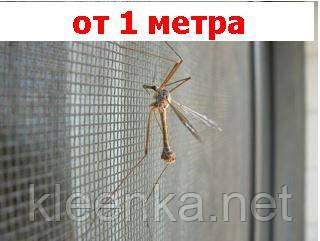 Противомоскитная сетка, защита от комаров, мух и пуха, ширина  1,6 м, фото 2