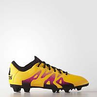 Футбольные бутсы Adidas X 15.1 FG AG Leather (Артикул  S74616) 0c43ddc62944a