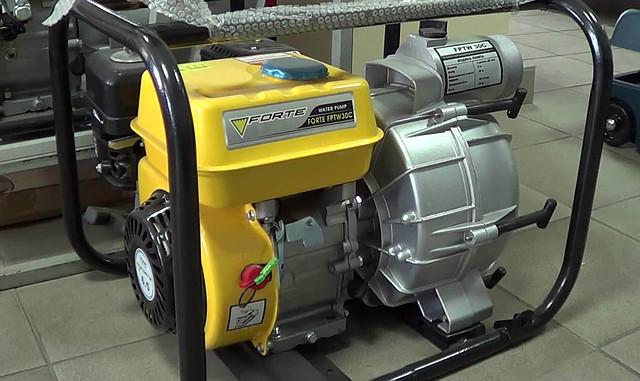 Forte FPTW 30 C бензиновая мотопомпа для грязной воды