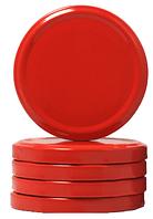 Евро крышки твист офф-82 (красные )