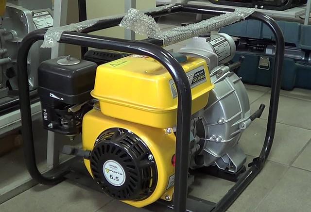 Forte FPTW 30 C мотопомпа бензиновая для грязной воды