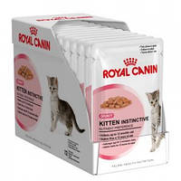 Royal Canin Kitten Instinctive (Киттен Инстинктив соус), 1х85 гр