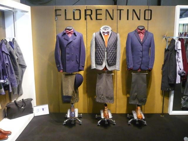 Мужские туфли броги флорентино