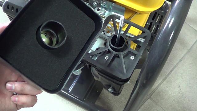 Воздушный фильтр на мотопомпе форте