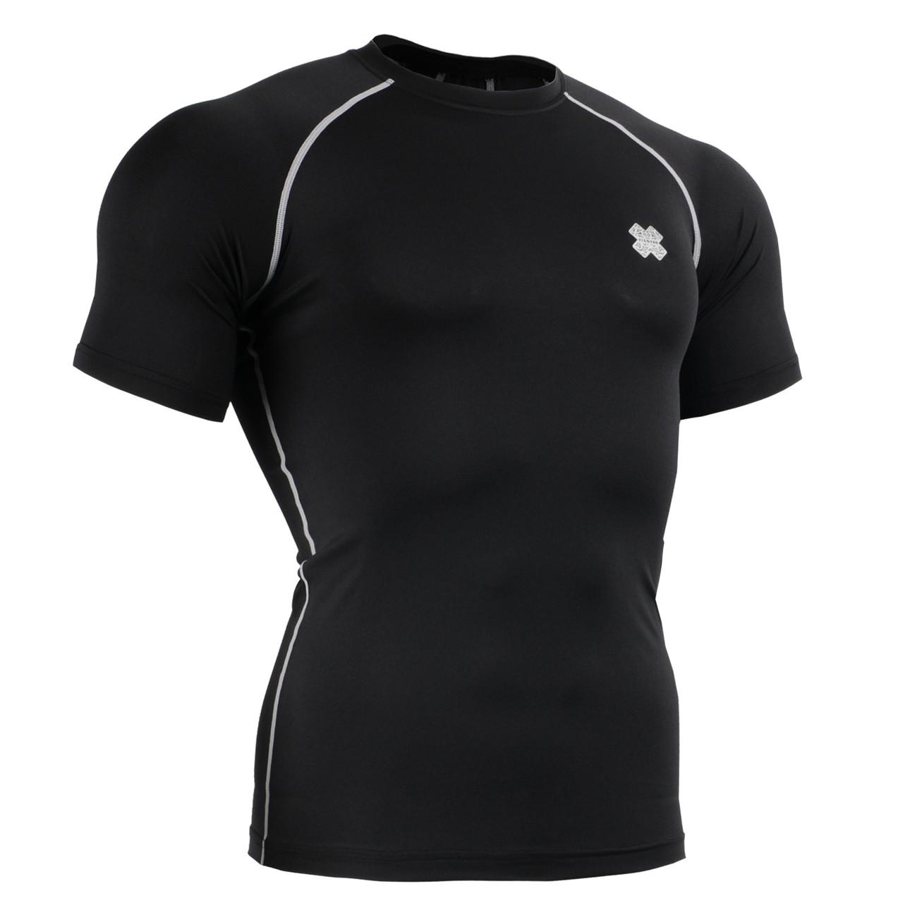 Компресійна футболка рашгард Fixgear CPS-BS чорна