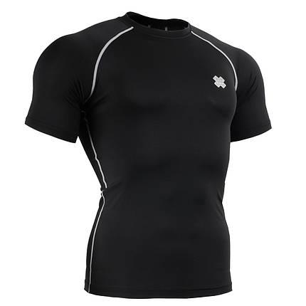 Компресійна футболка рашгард Fixgear CPS-BS чорна, фото 2