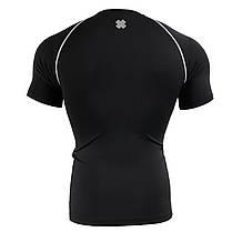 Компрессионная футболка рашгард Fixgear CPS-BS черная, фото 2