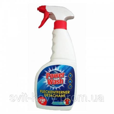 """Пятновыводитель спрей"""" Power Wash Fleckentferner Detachant Spray"""" 750ml, фото 2"""