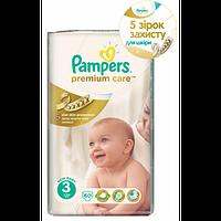 Подгузники детские PAMPERS PremIUM Care Midi 3 (4-9 кг) Джамбо 60шт