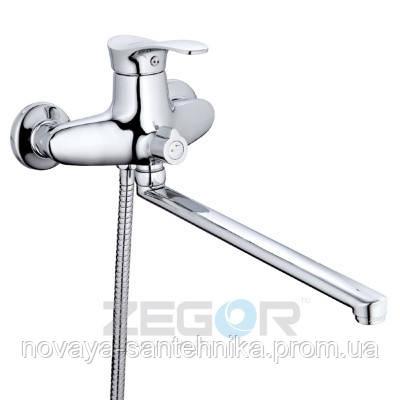Смеситель на ванную с душем, NPO7
