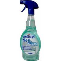 """Спрей для мытья плитки и зеркал"""" Astonish Tile & Mirror Cleaner """"750 мл."""