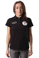 Женская футболка из натурального хлопка REFEREE WPC woman black Berserk Sport черный