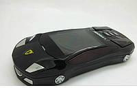 Китайский телефон-машинка Ferrari F8, 2 сим, Fm, Java., фото 1