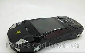Машинка-телефон Ferrari F8, 2 SIM, FM-радио, Java.