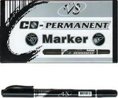 Маркер для дисков перманентный двухсторонний чёрный
