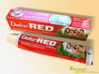 Красная Зубная паста Dabur Red Дабур Рэд,100 грм. Поможет решить возникшие проблемы с зубами.