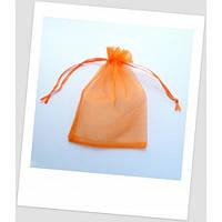 Мешочек из органзы 18 см х 13 см оранж.