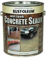 Грунт-пропитка по бетону, мокрый камень, Concrete Stain, 3,79 litre, Rust Oleum