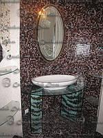 Зеркала в ванную двухцветные