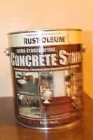 Пропитка по бетону, горелый кирпич, Concrete Stain, 3,79 litre, Rust Oleum