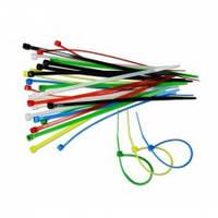 Набор цветных затяжных ремешков Technics 23-203 (2,5 х 150 мм)