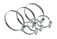 Хомут стяжной оцинкованная сталь Technics 23-301 (10-16 мм)