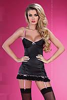 Эротический комплект  Livia corsetti  MILAGROS, черный с ленточками, фото 1