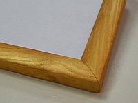 Рамки деревянные (сосна).23 мм.Золото., фото 1