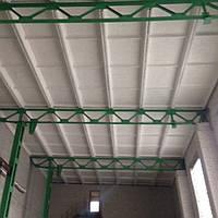 Склад кирпичный для хранения минеральной или стекловаты, пенопласта, пиломатериалов - других материалов или об