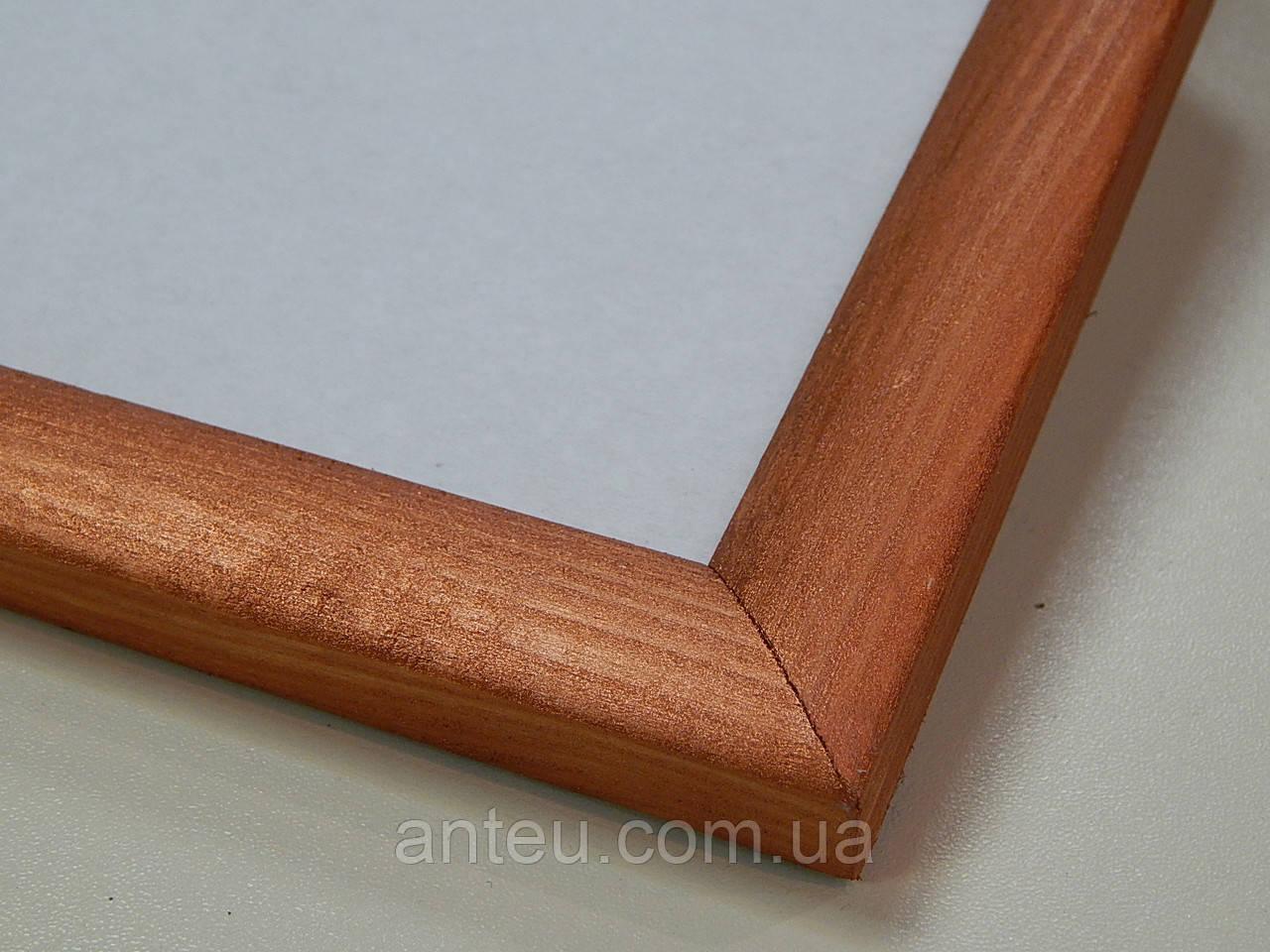 Рамки деревянные (сосна).23 мм.Медь.