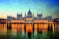 Схема для вышивания бисером Серия огни ночного города Будапешт КМР 2128