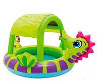 Детский надувной бассейн «Морской конек» 57110