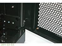 """Шкаф 19"""" 42U. 800х1055 мм (Ш*Г). усиленная. перфорированные двери (66%).черный"""