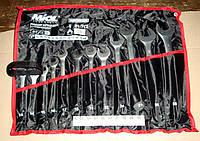 Набор ключей 12шт (13-32мм) рожково-накидных 51-714