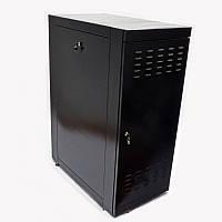 "Шкаф 19"" 24U. 610х1055 мм (Ш*Г). черный"