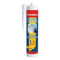 Герметик силиконовый санитарный Technics 12-266