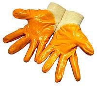 """Перчатки рабочие """"INTERTOOL"""" (Size 8) нитриловые"""