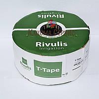 Капельная лента T-Tape 6mil-10 см (3050м) Rivulls (США), фото 1