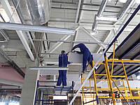 Монтаж подвесного потолка панелей
