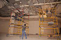 Демонтаж, монтаж подвесного потолка
