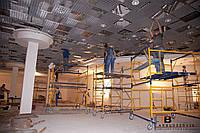 Монтаж подвесных потолков специалистами
