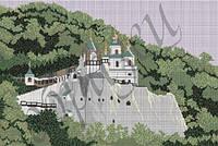 Схема для вышивания бисером Святогорская Лавра КМР 2002
