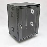 Шкаф 15U. 600х500х773 мм (Ш*Г*В).  акриловое стекло. черный