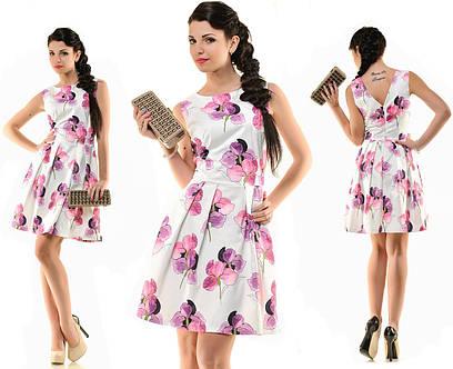Женское летнее платье №58-5172