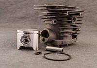 Цилиндро-поршневая группа Низкая (44 мм) для бензопил тип Husqvarna 350