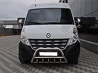 Передняя дуга WT003 (нерж.) Renault Master 2004-2010 гг.