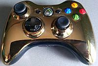 Геймпад беспроводной Xbox 360 Chrome Gold
