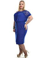 Шикарна жіноча сукня великий розмір, фото 1
